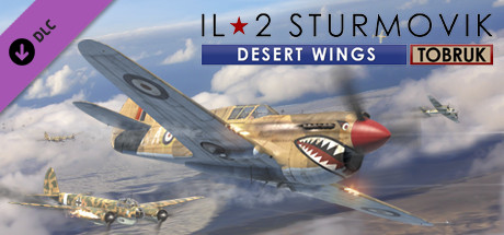 IL 2 Sturmovik Desert Wings Tobruk Free Download PC Game